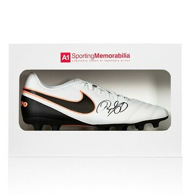 Ryan Giggs Signed Nike Football Boot - Gift Box Autograph Cleat