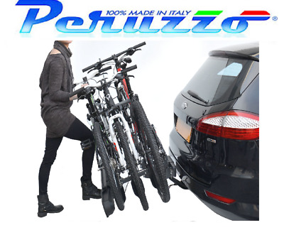 PER7094 Peruzzo Pure Instinct Car Roof Bar Mount Bike Car Cycle Rack Carrier