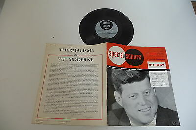 Revue Special Sonore N°1 Janv-Fevr 1964 Disque Souple John Fitzgerald Kennedy