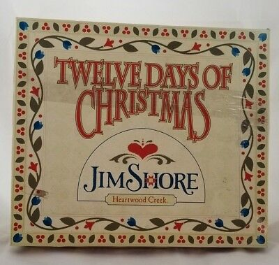 BOX W/INSERT & FOAM ONLY Jim Shore for 12 Days of Christmas Ornaments 4002364