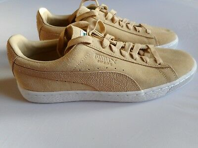 8b7ecf196e6947 PUMA Suede Mens Trainers Shoes Nude Size -UK-7