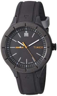 "Timex TW5M16900, ""Ironman Essential"", Indiglo, Black Resin Watch, 100 Meter WR"