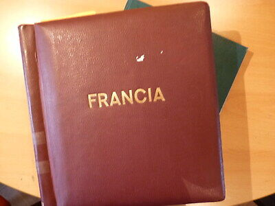France: collection timbres ** dans 2 albums