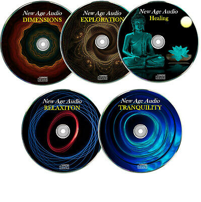 Entspannungs Musik, Ambient, relaxen, Wellness,Meditation, New Age ✔5 Audio CD`s