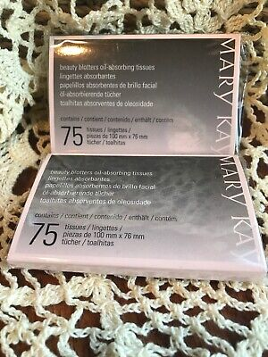 Mary Kay Beauty Blotters oil-absorbing tissues (set of 2)