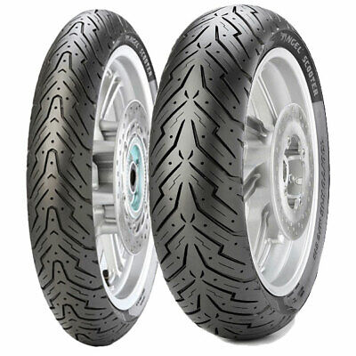 Coppia Gomme Pirelli 3.50-10 59J + 140/60-13 63P Angel Scooter