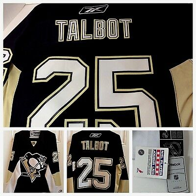Official Reebok Pittsburgh Penguins Maxime Talbot  25 Jersey NHL Adult  Small (S) 8acb0e3d6