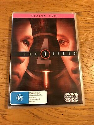 THE X-FILES|Season Four/4|Region 4|6 X DVD