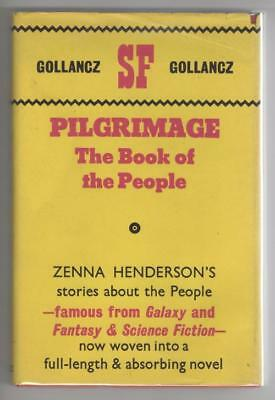Pilgrimage: The Book of the People by Zenna Henderson (1st UK) Publisher File...
