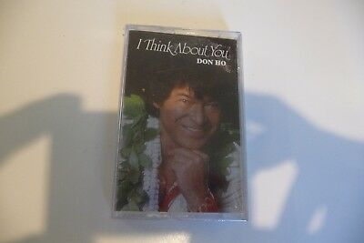 Don Ho K7 Audio Tape Cassette Neuf Sealed. I Think About You. Hawaii Pacific.