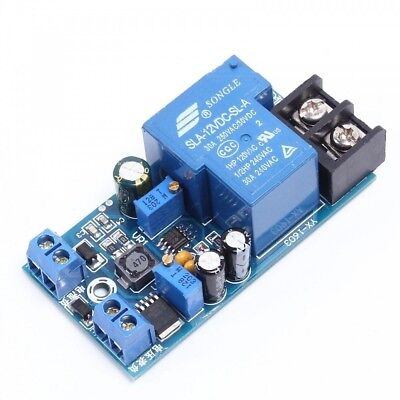 12V Battery Automatic Switch Module Power ON/OFF Control for Charging Protection