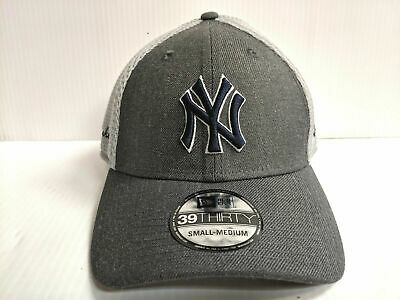 huge discount 00d91 84634 New York Yankees Cap New Era 39Thirty Stretch Fit Mesh Heather Front Neo Hat