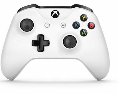 Official Microsoft Xbox One White Wireless Controller w/Headphone Jack TF5-00001