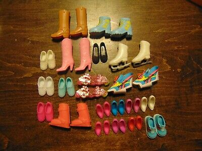 Barbie Doll Size Shoes  Lot of 20 Lot 1