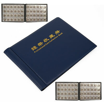 240 Pockets Penny Coin Storage Folder Album Book Money Collecting Prop Fashion