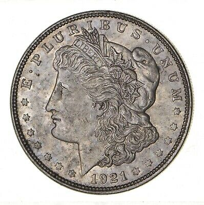 1921 - Morgan Silver Dollar - Last Year - 90% - US Coin *148