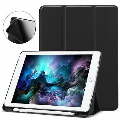 "New 2018 9.7"" 6th/5th Generation iPad Case with Pencil Holder, Auto Sleep/Wake"
