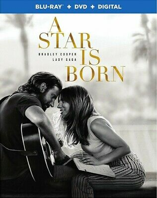 BLU-RAY A Star Is Born (Blu-Ray/DVD) NEW Lady Gaga, Bradley Cooper