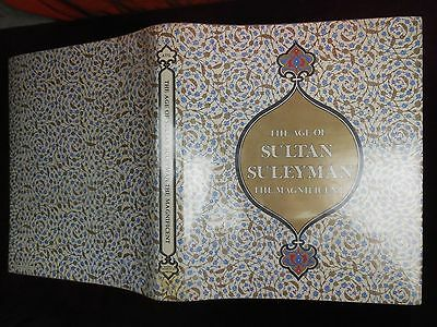 AGE of SULTAN SULEYMAN the MAGNIFICENT by ATUL/OTTOMAN TURKEY/286 PICS/ 1987 1st