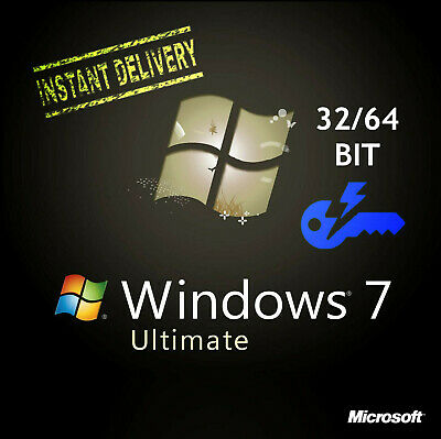 Windows 7 Ultimate 🔑32/64-bit Product Key Full 🔑IInstant Delivery(30s 📩)