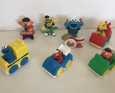 Sesame Street Characters Collection Of 8 Vintage