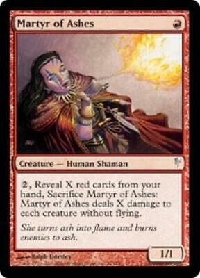 WOTC MtG Coldsnap Martyr of Ashes (C) (Foil) NM