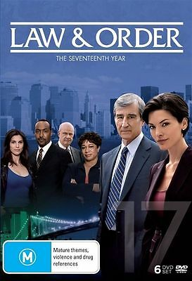 Law And Order: Season 17 (DVD, 2017, 6-Disc Set), NEW SEALED AUSTRALIAN RELEASED
