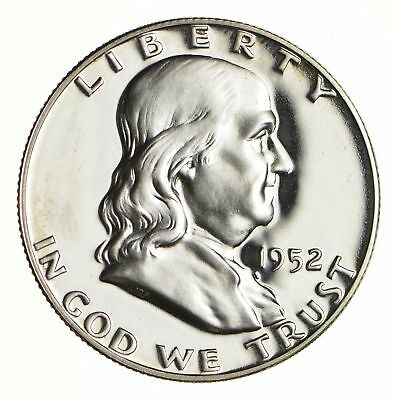 1952 Franklin Half Dollar - Uncirculated *5316