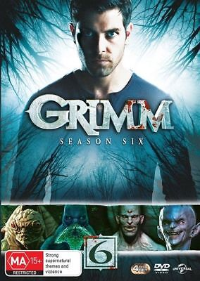 Grimm : Season 6 (DVD, 2018, 4-Disc Set), NEW SEALED AUSTRALIAN RELEASE REG 4