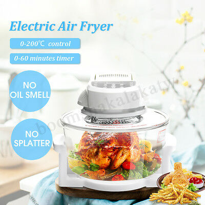12L LCD Healthy Air Fryer 5 Star Chef Low Fat Oil Free Rapid Deep Cooker Kitchen
