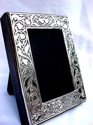 Exquisite Finest Quality 999 Hallmarked Silver London & Britannia Photo Frame.
