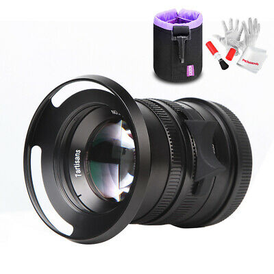 7artisans 55mm f1.4 APS-C Manual Fixed Lens for Leica T Mount Cameras +Rich Gift