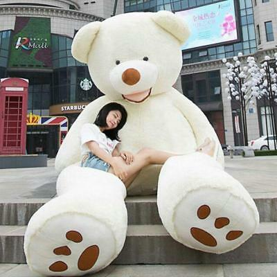 78'' Super Huge Teddy Bear Only Cover 200cm Plush Toys Shell (With Zipper) Gifts