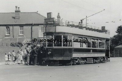 a0369 - Cardiff Tram 22 to Roath Park - photograph 6x4