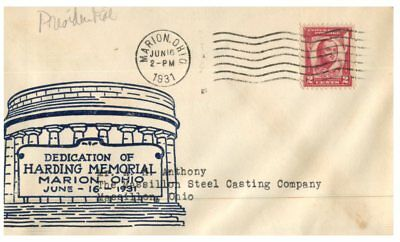 (C 509) USA FDC covers - 1931 & 1954 (2 covers)