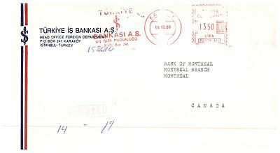 (C 509) Turkey to Canada posted covers (11 different)