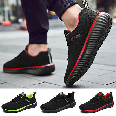 Mens Casual Athletic Shoes Outdoor Trainers Breathable Running Sneakers Comfy