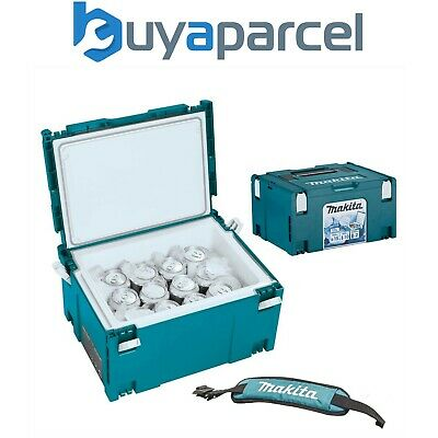 Makita MAKPAC Cool Box Connector Tool Case Systainer Type 3 11 Litres + Strap