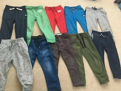 Large Bundle Of Boys Trousers 4-5yr Old 10pairs