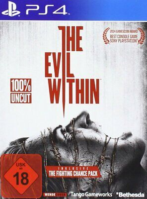 The Evil Within (100 % Uncut)      PS4     Playstation 4     !!!!! NEU+OVP !!!!!