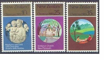 New Zealand 1980 CHRISTMAS (3) Mint Unhinged SG 1229-31