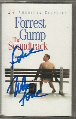 Mike Love of Beach Boys REAL SIGNED Forrest Gump Soundtrack cassette tape COA