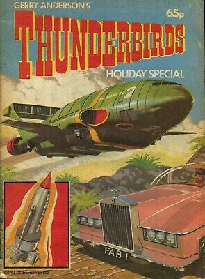 Gerry Anderson's THUNDERBIRDS Holiday Special pub ITC 1984