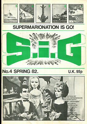 SUPERMARIONATION IS GO SIG No 4 Spring 1982 Thunderbirds related comic/magazine