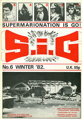 SUPERMARIONATION IS GO SIG No 6 Winter 1982 Thunderbirds related comic/magazine