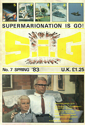 SUPERMARIONATION IS GO SIG No 7 Spring 1983 Thunderbirds related comic/magazine