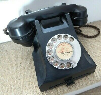 1950's land line telephone for display / theatre prop ##KIN73BS