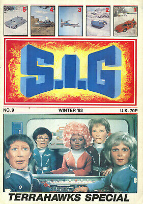 SUPERMARIONATION IS GO SIG No 9 Winter 1983 Thunderbirds related comic/magazine