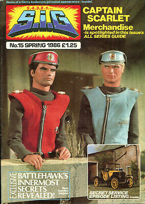 SUPERMARIONATION IS GO SIG No 15 Spring 1986 Thunderbirds related comic/magazine