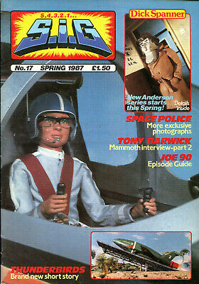SUPERMARIONATION IS GO SIG No 17 Spring 1987 Thunderbirds related comic/magazine